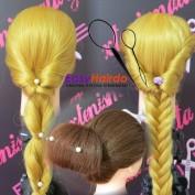 Εύκολα χτενίσματα με το EasyHairDo / Easy hairstyles with EasyHairDo